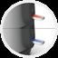 Arzum Cay Sefasi AR 3080 Elektrischer Teekocher Teemaschine 3,0 L Edelstahl Rot