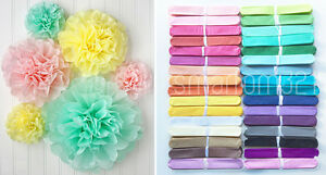 Tissue-Pom-Poms-Paper-Flower-Home-Wedding-Birthday-Tea-Party-Table-Decoration