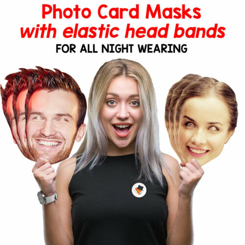 Steve Jobs Celebrity Card Face Mask Fancy Dress Party Wholesale