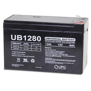 UPG-12VOLT-8AMP-HOUR-RECHARGEABLE-SEALED-LEAD-ACID-12V-8AH-BATTERY