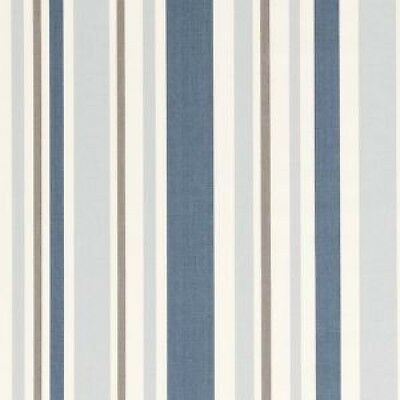 Clarke and Clarke Nova Sky Stripe Design Curtain Upholstery Craft Fabric
