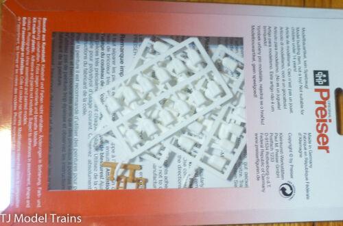 Unpainted Plastic Parts Hand Cart 60pcs Preiser HO #17102 Sacks 2pcs