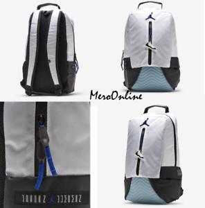f1c09b418922 🆕🔥 Nike Air Jordan 11 XI Retro Black True Blue Backpack Bookbag ...