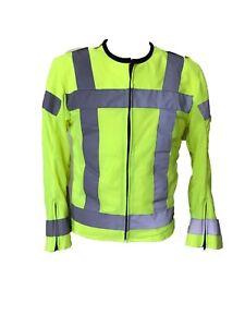 Motorrad-Hell-Oberteil-Activ-Reflektierendes-Sicherheit-Motorrad-Jacke-Warnweste