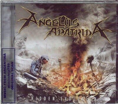 ANGELUS APATRIDA HIDDEN EVOLUTION + BONUS TRACK SEALED CD NEW 2015