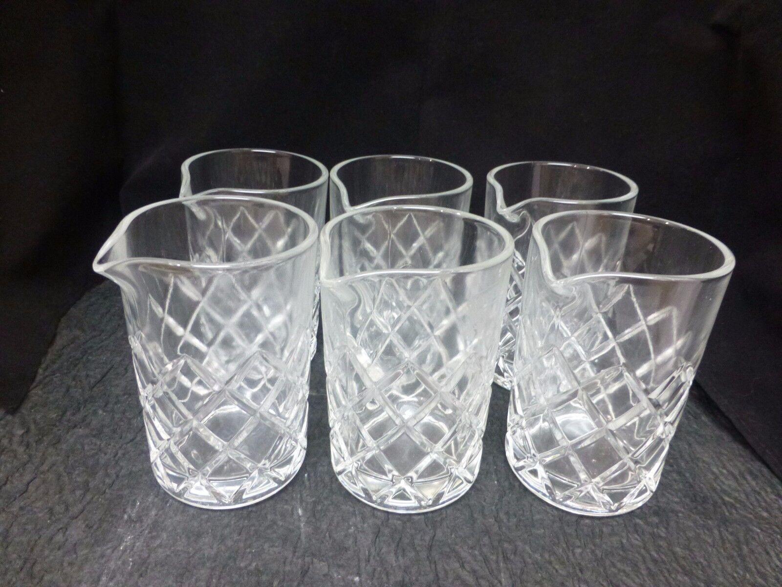 Le Mélange Verre  Yarai Design Verre de Cristal  1 Box (6 verre) - Ninomiya JAPON