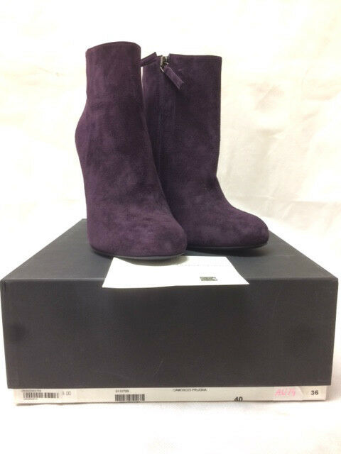 Gianmarco Boots. Lorenzi Purple Suede Ankle Boots. Gianmarco A5D9O3759. Various Sizes. a883e1