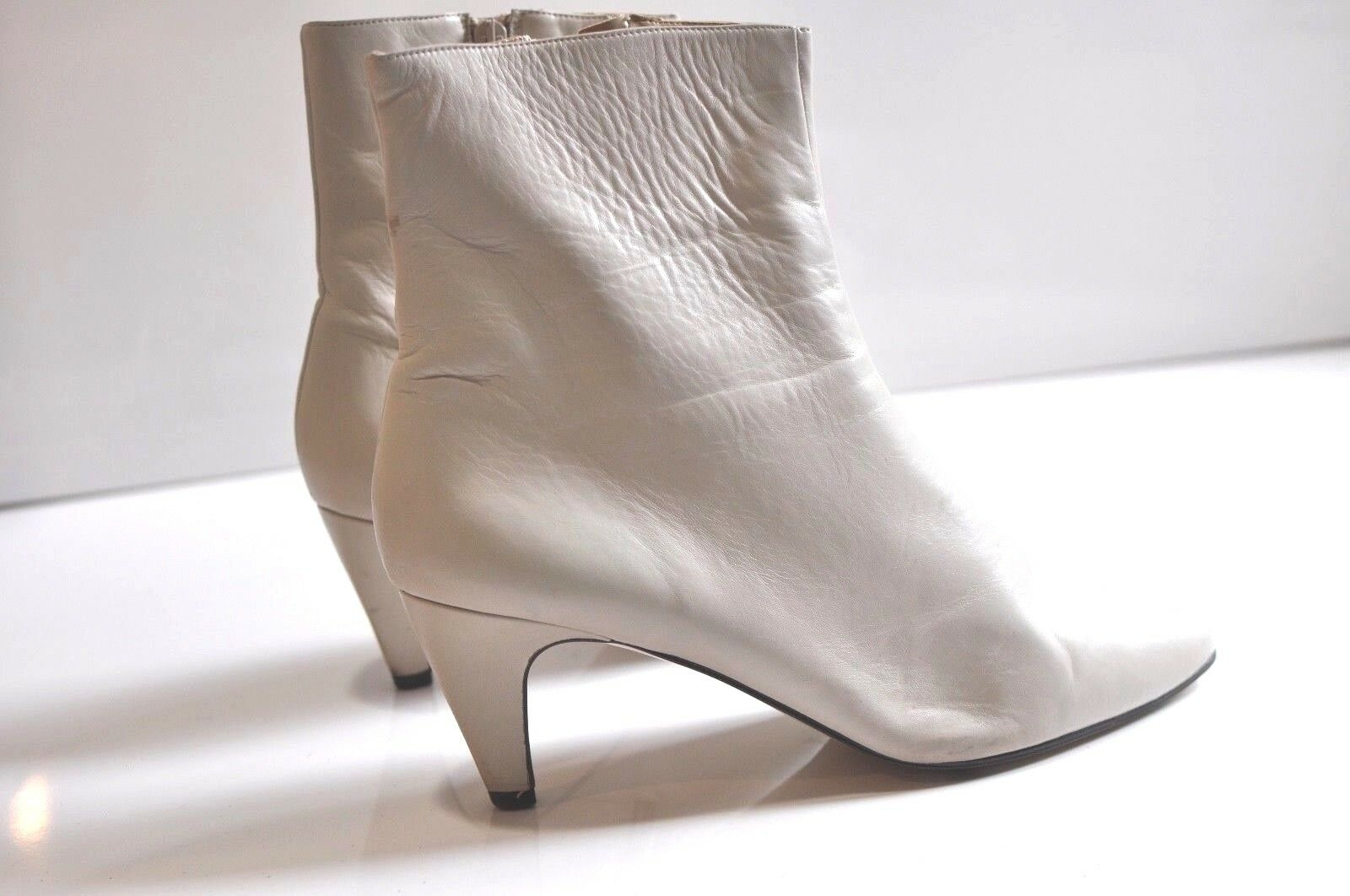 Proxy Womens leather ankle boots heels size 11M