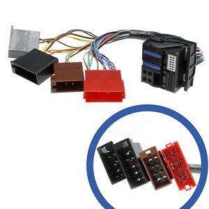 Auto-Radio-RNS-E-Navigation-Kabel-Mini-ISO-Quadlock-Stecker-fuer-Audi-A3-A4-A6