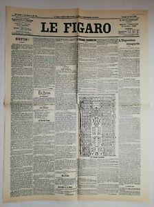 N888-La-Une-Du-Journal-Le-Figaro-14-Avril-1900-l-039-exposition-inauguree