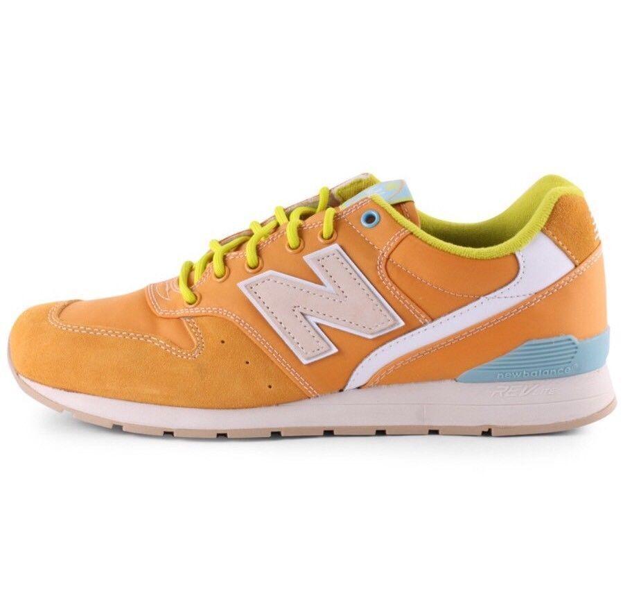 New Balance 8.5 MRL996 [MRL996GD] Classic Running Mango/Lime-Teal size 8.5 Balance 6df47b