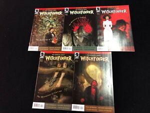 Witchfinder-Mysteries-of-the-Unland-1-2-3-4-5-Set-Dark-Horse