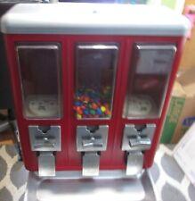 Route Master 3 Bin Candy Vending Machine