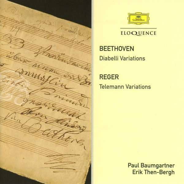 Baumgartner; Then-Bergh - Beethoven / Reger: Variations Nuevo CD