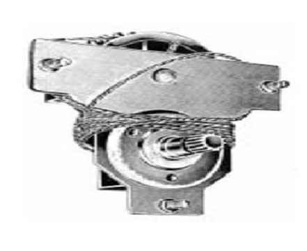 FIAT 600 D ALZACRISTALLO ALZAVETRO DX=SX FILO CORTO RICAMBI D/'EPOCA COD.34//10101