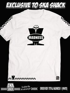 Exclusive and Numbered T SHIRT SKA 2 TONE . Small to 5XL 500 only