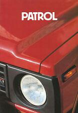 Prospekt Datsun Nissan Patrol 1983 Autoprospekt 2 83 Auto Pkw Geländewagen