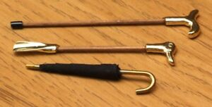 1:12 Dolls House Walking stick and shoe horn