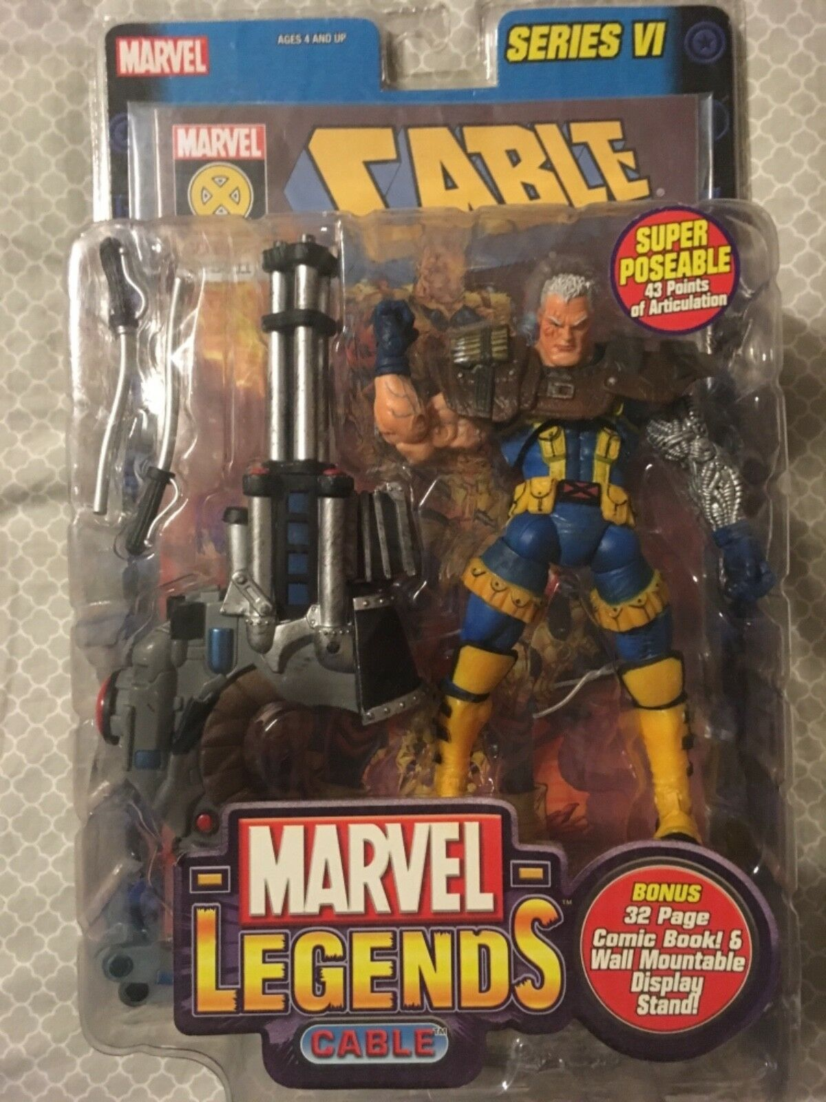 Marvel Legends Cable Series VI