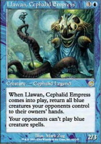 Cephalid Empress ~ Heavily Played Torment UltimateMTG Magic Blue Card Llawan