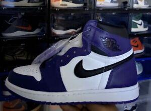 Air Jordan 1 Court Purple Size GS 6Y