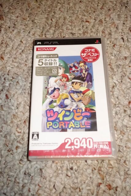 TwinBee Portable Japan Import (Sony PSP, 2007) NEW Sealed JP