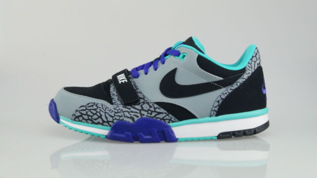 Nike air Trainer 1 Low St Hommes US 13 Gris Baskets UK 12 6294