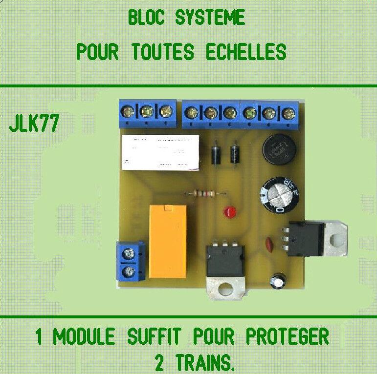 LOT DE 3 BLOCS SYSTEMES COMPATIBLES TOUTES ECHELLES.