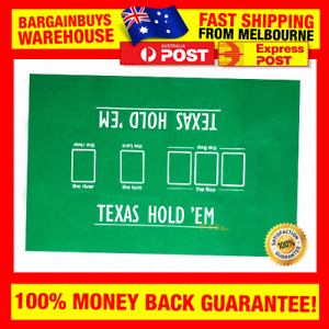 High Quality 60*90cm Texas Hold'em Poker Table Felt Poker ...
