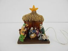 Dept 56 Village Nativity Creche #52822 Battery Operated Star Lights Up! Small