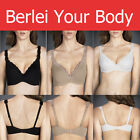 BERLEI BARELY THERE LUXE CONTOUR BRA UNDERWIRE BLACK CAFE MOCHA IVORY Y296T