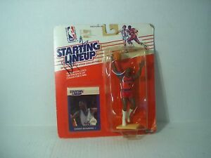Danny Manning LA Clippers autographed 1988 Kenner Starting Lineup figure KU