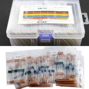 Metallfilm Widerstände 73 Werte x 1460 Stück 1//4W Widerstand Sortiment Set Kit