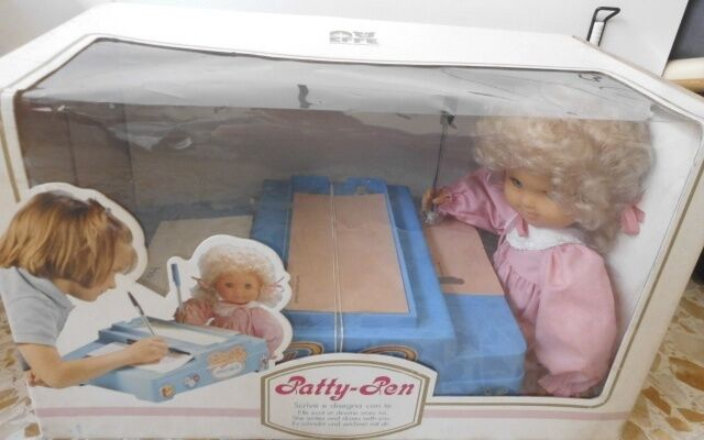BAMBOLA EFFE PATTY PEN FONDO DI MAGAZZINO DOLL TOY VINTAGE