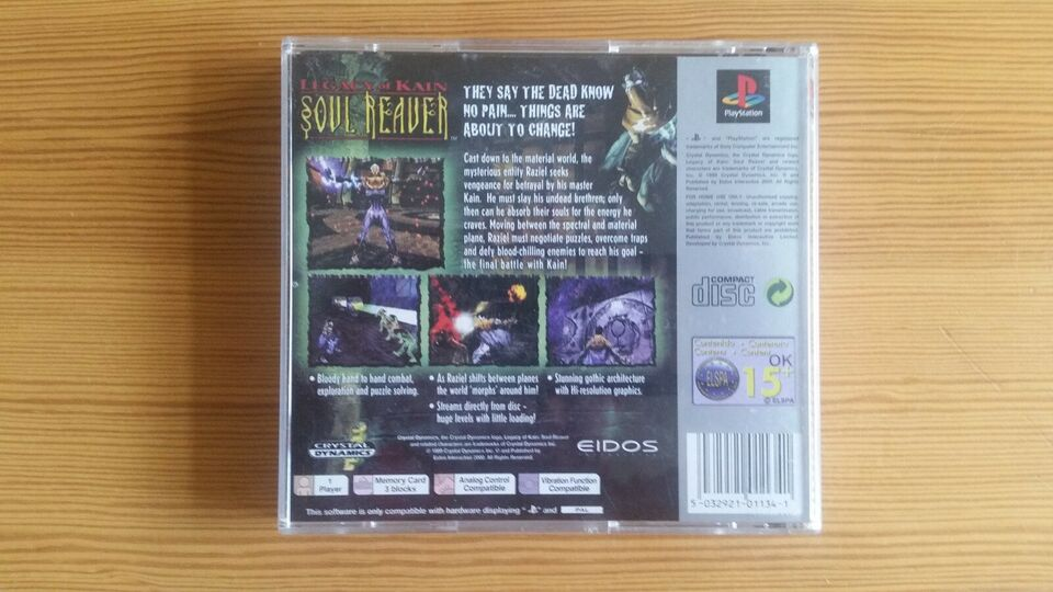 Legacy of Kain - Soul Reaver, PS, adventure