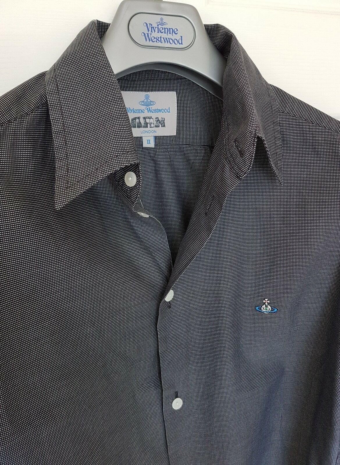 Mens MAN by VIVIENNE WESTWOOD long sleeve shirt size small medium. RRP .