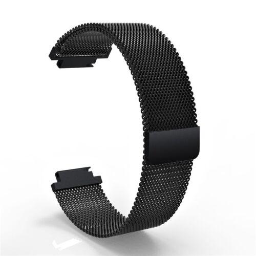 Milanese Band Wrist Strap Stainless Steel Magnet Bracelet for Garmin Vivoactive