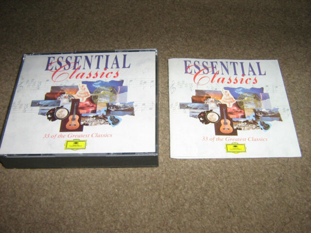 BRAND NEW UNWANTED GIFT DOUBLE CD Essential Classic [Deutsche Grammophon] (1997)