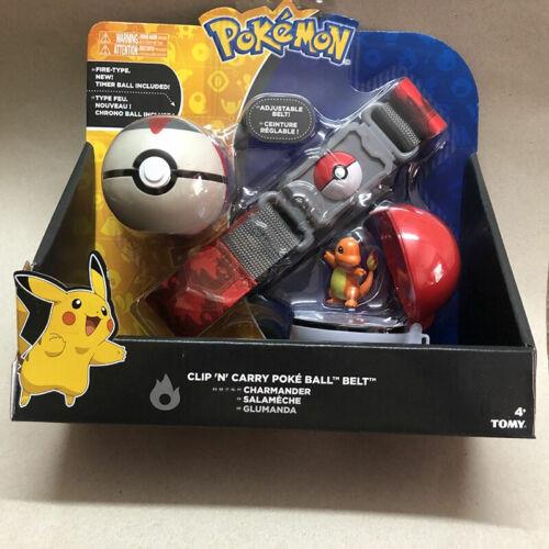 Pokemon Clip N GO Carry Poke Ball Pop-up Toys Cross Belt Game Kids Xmas Cosplay