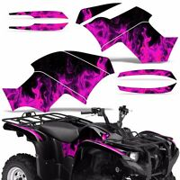 Graphic Kit Yamaha Grizzly 550/700 Atv Quad Decal Sticker Wrap 2007-2014 Ice Pnk