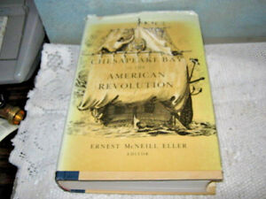 FIRST-EDITION-Chesapeake-Bay-in-the-American-Revolution-1981-Tidewater-W-DJ-Book