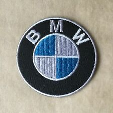 BMW MOTOR SPORT RACING CAR LOGO EMBROIDERY IRON ON PATCH BADGE #ROUND