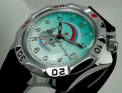 RUSSIAN  VOSTOK MILITARY KOMANDIRSKIE WATCH  # 531300  NEW