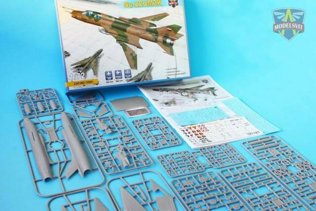 masks 1:72 Modelsvit #72051 Su-22UM3K /'Fitter-G/' two-seat trainer with PE parts
