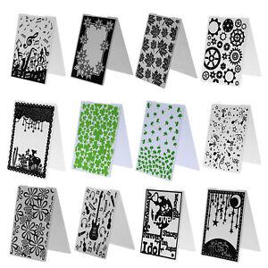 Plastic-Embossing-Folder-Cutting-Die-Scrapbooking-Paper-Cards-Decor-DIY-Crafts