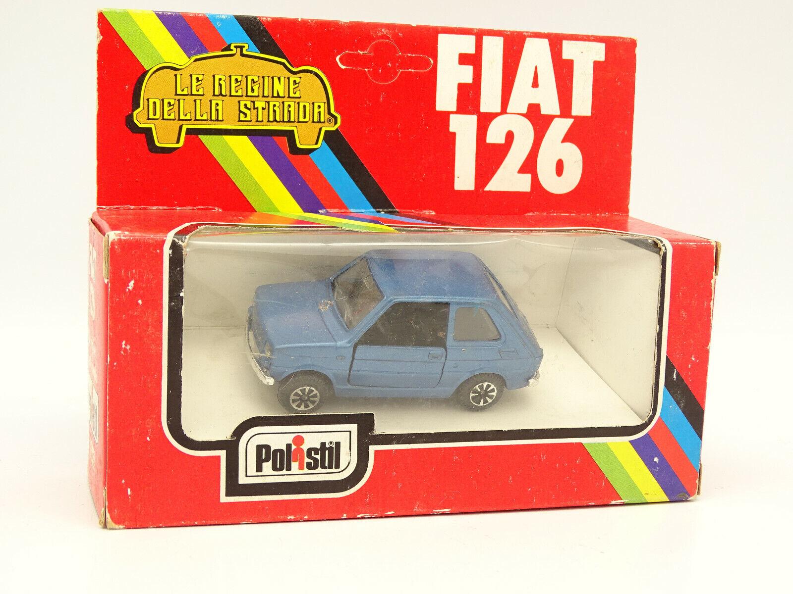 Polistil 1 43 - bluee fiat 126