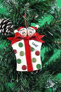ALBERO-di-Natale-personalizzata-Ornamento-famiglia-di-2-3-4-5-6-7-Glitter-Regalo-Famiglia
