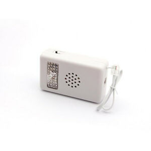 Loud Telephone Ringer with Flashing Light Bright Easy to Hear - OPEN BOX SPECIAL