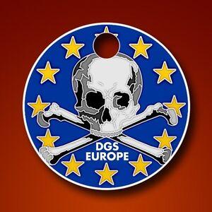 DGS Dirtbag Geocaching Society Europe pathtag Crâne Geocoin alt-afficher le titre d`origine YQxGZzb5-07140615-247122518