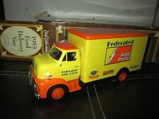 1953 Ford COE C600 Truck 1:30 ERTL  VINTAGE DELIVERY VAN FEDERATED AUTO PARTS